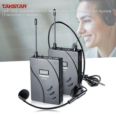 Hot Wireless Acoustic Tour Guide Transmission System 50m Effective Range T5C3