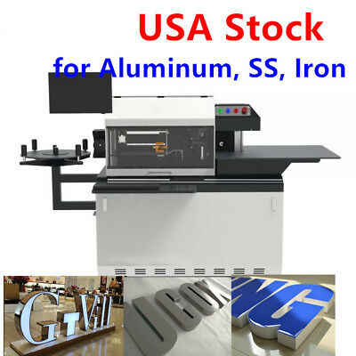 US Stock, Automatic CNC Metal Channel Letter Bender Machine for Aluminum SS Iron