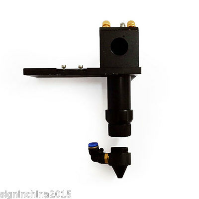 """CO2 Laser Cutting Head for Installing Dia 20mm Lens and Dia 25mm / 1"""" Mirror"""