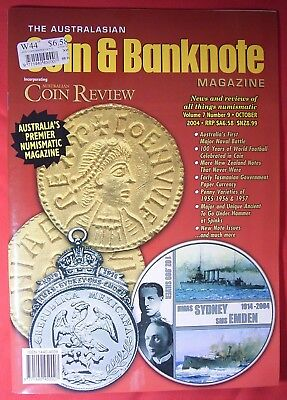 The Australian - Coin & Banknote Magazine - Coin Review - Vol 7,  N 9, Oct 2004
