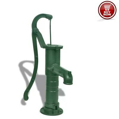 Garden Patio Cast Iron Garden Hand Water Pump Traditional Vintage Classic UK