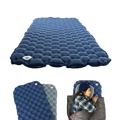 Leisure Co Ultralight Inflatable Sleeping Pad - Air Camping Mat for Backpacki...