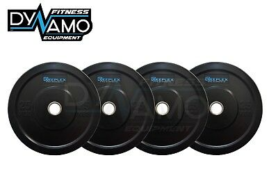 100KG BUMPER WEIGHT SET GYM PLATES / WEIGHTLIFTING/CROSSFIT Home Gyms