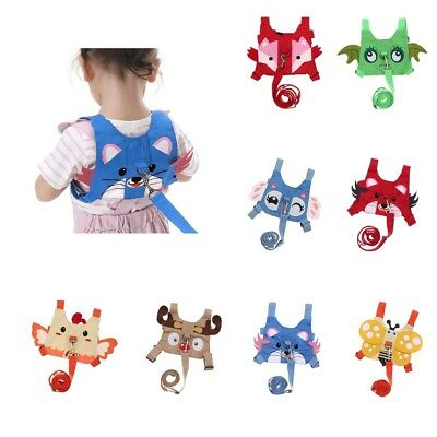 Baby Kids Toddler Walking Safety Harness Leash Anti-Lost Strap Harness Reins