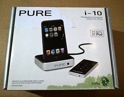 Pure i-10 Powered Universal Dock for iPod