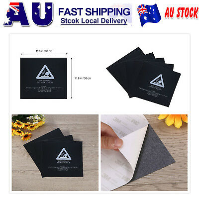 3/5x PEI Sheet 300x300mm ABS PLA 3D Printing Build Surface Adhesive Tape Tool