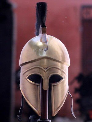 Medieval Wearable Greek Corinthian Helmet Free Leather Liner Knight helmet MS110