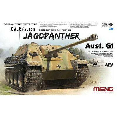 Meng Model 1/35 TS-039 Sd.Kfz.173 Jagdpanther Ausf.G1 New*