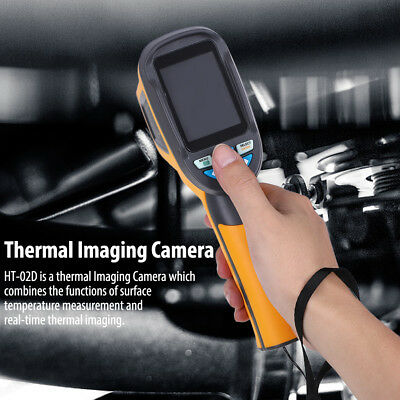 HT-02D Thermographie Infrarouge Thermomètre Caméra Imagerie Thermique Imageur