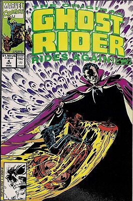 The Original Ghost Rider Rides Again, #4, October, 1991 - VF/NM Condition!