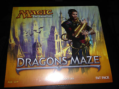 Magic the Gathering Dragon`s Maze Fatpack - neu - OVP