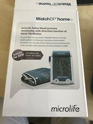 Watch BP home A - blood pressure monitor with atrial fibrillation detector