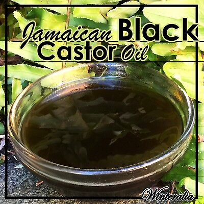 Jamaican Black Castor Oil - 100% Organic, Pure And Natural -Choose size