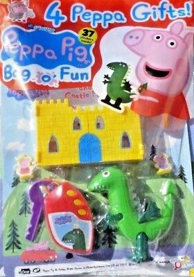 PEPPA PIG BAG OF FUN MAGAZINE ISSUE #99 ~ NEW WITH 4 x PEPPA GIFTS ~