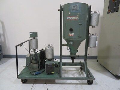 Conair C-50 Used Material Dryer and 18287802 Drying Hopper, Desiccant, ZAG #7981