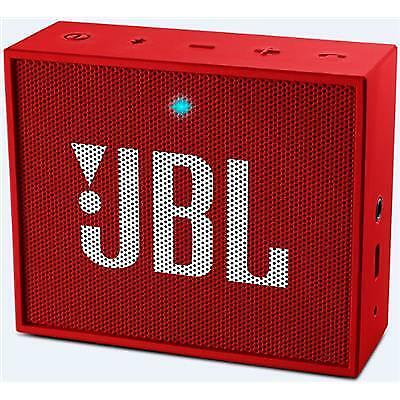 JBL GO Red Compact Portable Bluetooth Speaker