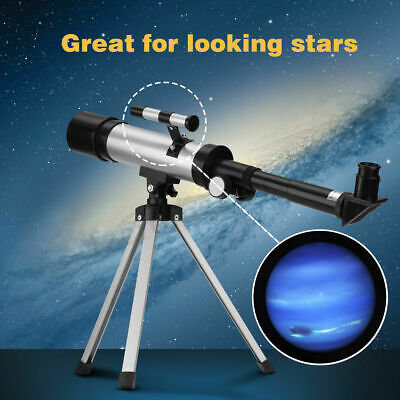 Professional F36050 Astronomical Beginners Telescopes Tripod W/ Finderscope Kids