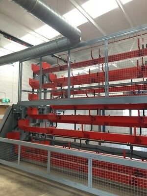 Used Ciampalini VE MAG100 Vertical Warehouse Storage Solution