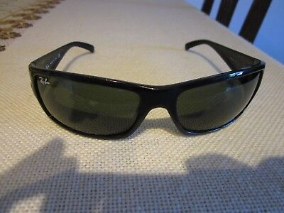 4d5cd3569fbea RAY- BAN SONNENBRILLE Herren..top Zustand  4108 Made in Italy - EUR ...