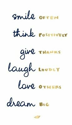 Printed Quotes Inspirational /Motivational A4 Card Picture Poster Art Unframed