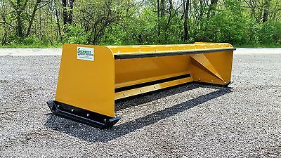 7' Low Pro snow pusher box w/ pullback bar FREE SHIPPING-RTR skid steer bobcat