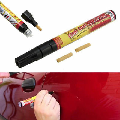 Fix It Pro Car Body Scratch Paint Repair Remover Pen Clear Coat Applicator