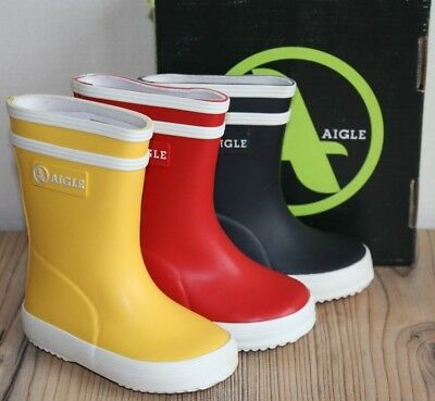 31a06c99f Aigle Kids Wellies Lolly Pop or Baby-Flac Wellies Various Colours & Sizes  BNIB