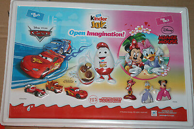 Kinder Joy 3 D Plastik Werbeschild Minnie Maus / Disney Cars Indien