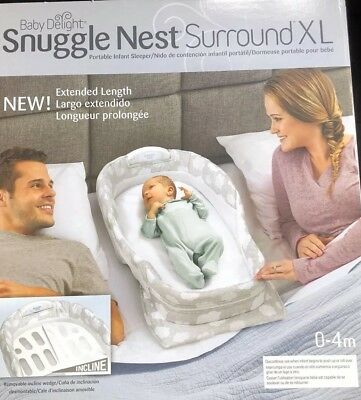 baby delight snuggle nest surround Excellent