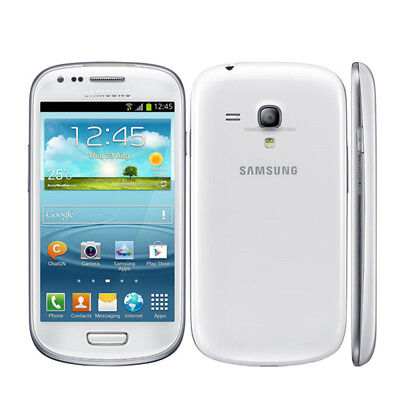 4.0'' Samsung Galaxy S III Mini GT-I8190 GSM Unlocked Android Smartphone White