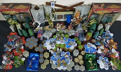 Heroscape- The Battle of All Time- Road To The Forgotten Forest- 400+ Piece Lot
