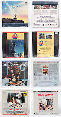 LASER DISC - pick one (1) from list - almost 500 to choose from!