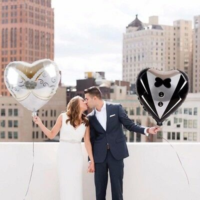Wedding Decoration Foil Balloons Just Married Wedding Dress Balloon Bridal To Be