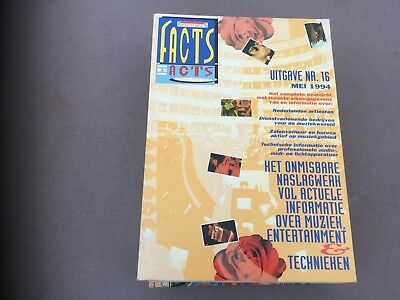 Facts&Acts-Mei 1994 music book