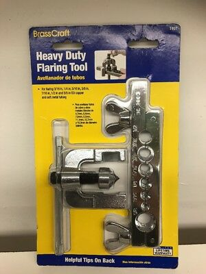 * BrassCraft Heavy Duty 3/16-in to 5/8-in OD Flaring Tool T407 Soft Metal Tubing