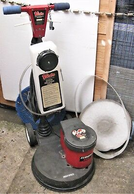 Victor Europa 450 Super Floor Buffer/Polisher/scrubber HEADS NWC LONDON