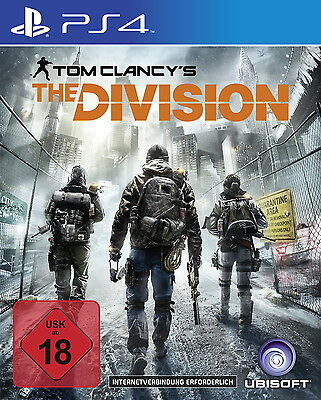 Tom Clancy's The Division PS4 (Sony PlayStation 4) NEUWARE Versiegelt
