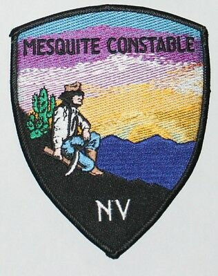MESQUITE CONSTABLE Nevada NV Miner Prospector Nev Cactus patch