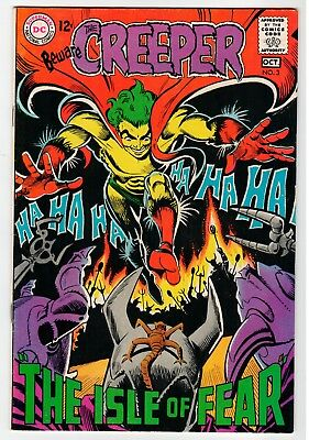 DC - THE CREEPER #3 - Ditko Cover & Art - VG/FN Oct 1968 Vintage Comic