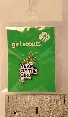 Girl Scouts - 100th ANNIVERSARY - YEAR OF THE GIRL - Charm