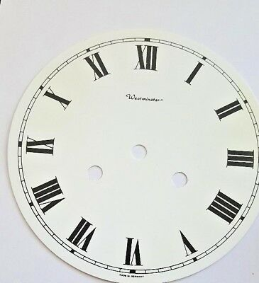Hermle-Westminster wall clock dial center for 141 movement 175 mm