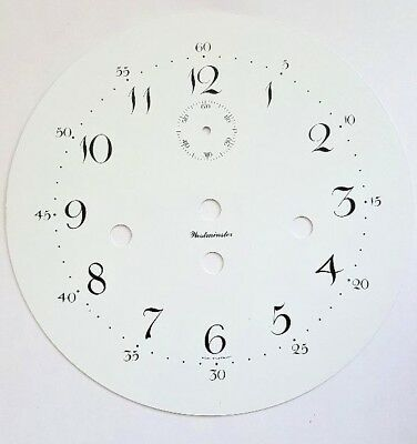Kieninger-Westminster wall clock dial center for Kieninger J movement 180mm