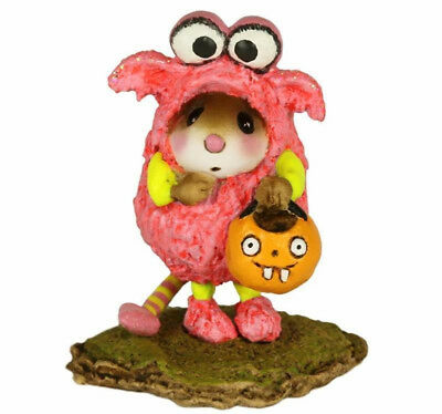 "Wee Forest Folk M-590 ""L'il Monster"" Pink"