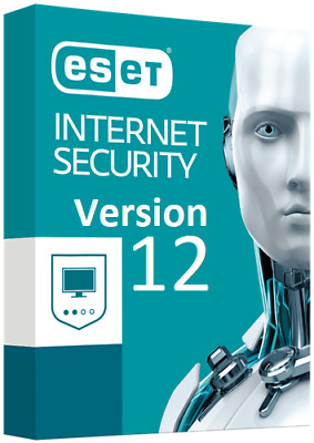 ESET Internet Security 12 Genuine Product Key / License | 3 YEARS | 3 PCS |