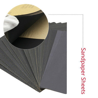 Grit 3000 5000 7000 Wet and Dry Sandpaper Polishing Abrasive Paper Sheets