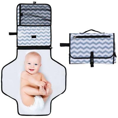 Baby Portable Toddler Changing Mat Nappy Waterproof Pad Home Travel Shower AU