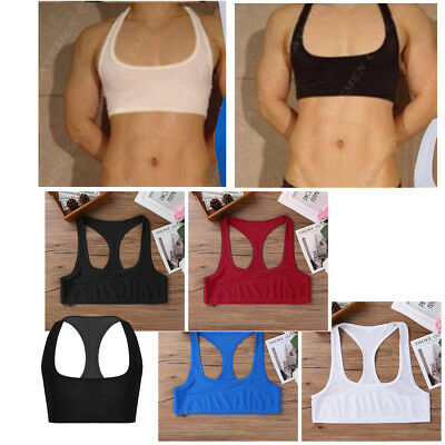 Men's Bodybuilding Tank Tops Gym Fitness Singlet Muscle Shirt Cami Vests Cropped