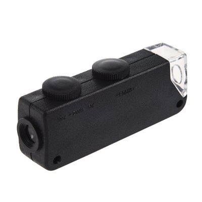 Portable 60x to 100x Zoom LED Microscope Magnifier Magnifying Loupe Glass B6A7