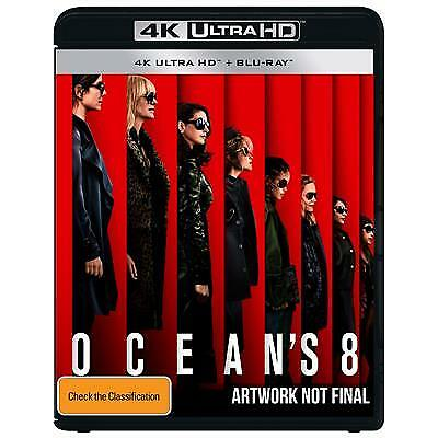 Ocean's 8 (4K Ultra HD/ Blu-Ray, 2018, 2-Disc Set) (Region B) New Release