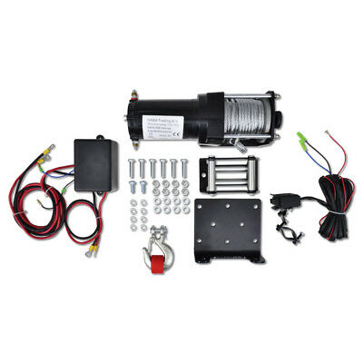 Professional Quality Electric Winch 1360 KG with Plate Roller Fairlead Wireless